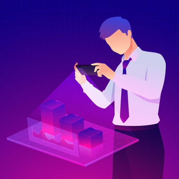 The pinnacle of innovation. AR is redefining the human perception of objects residing in the world around you to enhance your everyday processes. Plus, the interactive ability of the objects is opening new avenues for technological advancements in business.